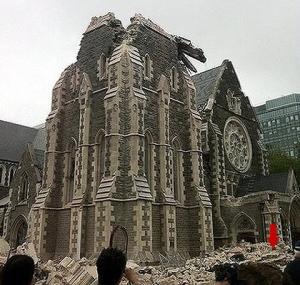 Chch cathedral quake copy