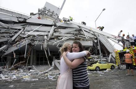 Chch quake PGG building