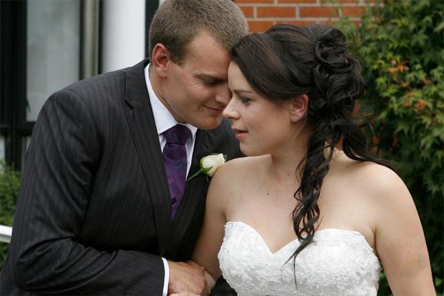 Chch quake wedding